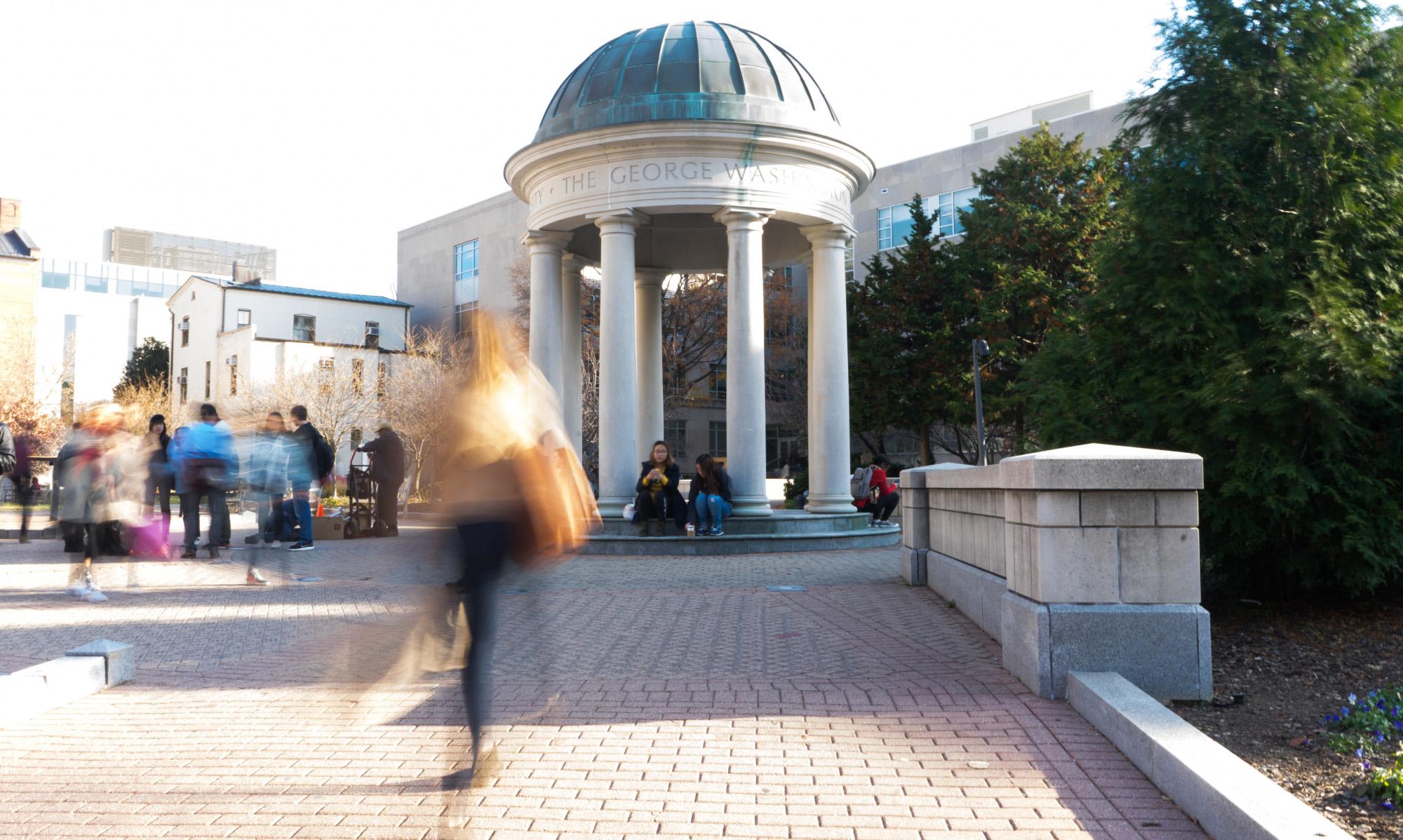 GW campus shot