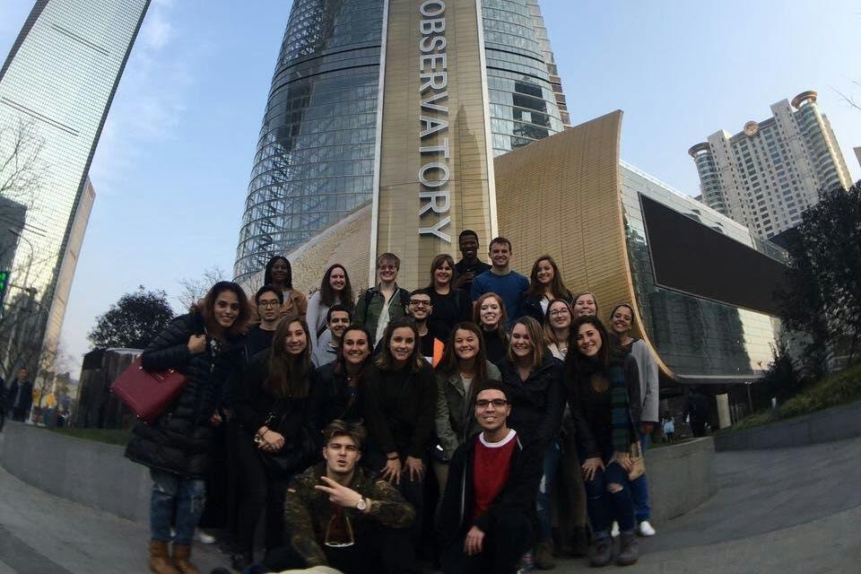 Global Bachelors students in Shanghai