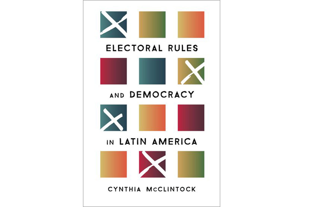 Book cover: Electoral Rules and Democracy in Latin America