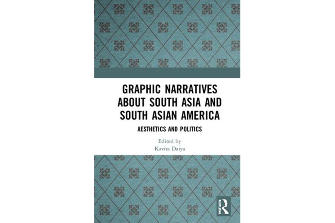 Book cover: Graphic Narratives about South Asia and South Asian America