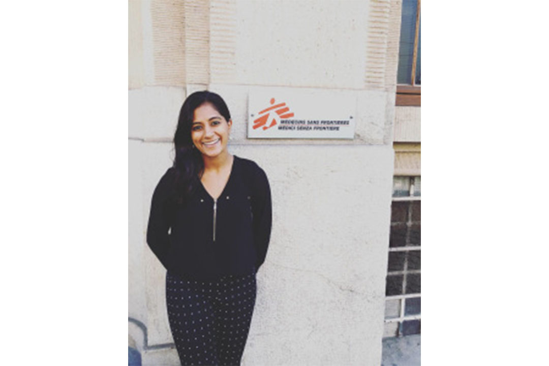 Savita Potarazu at Doctors Without Borders in Geneva, Switzerland