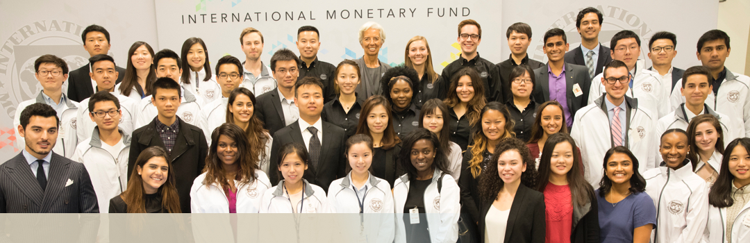 Diverse group at the IMF