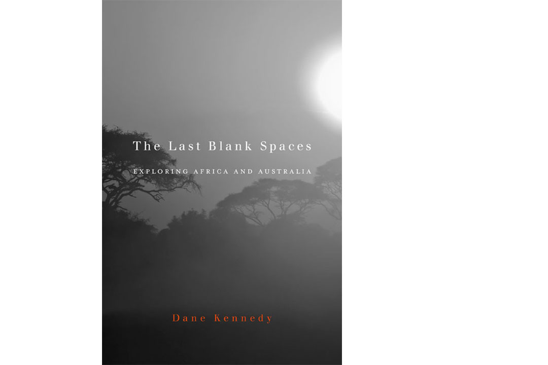 book cover: the last blank spaces